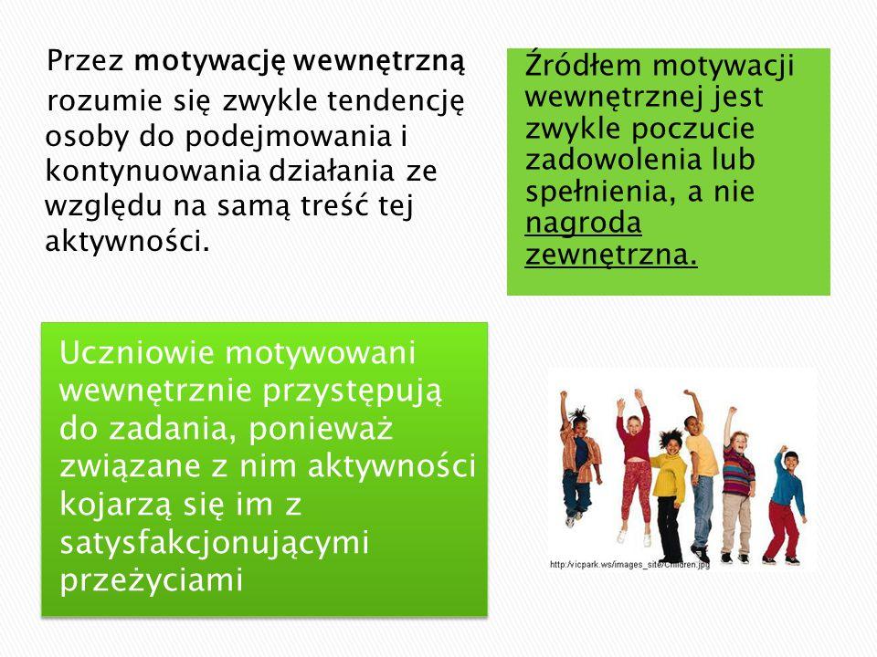 Jak chwalić.Dziecko: Skończyłem prezentację na język polski.