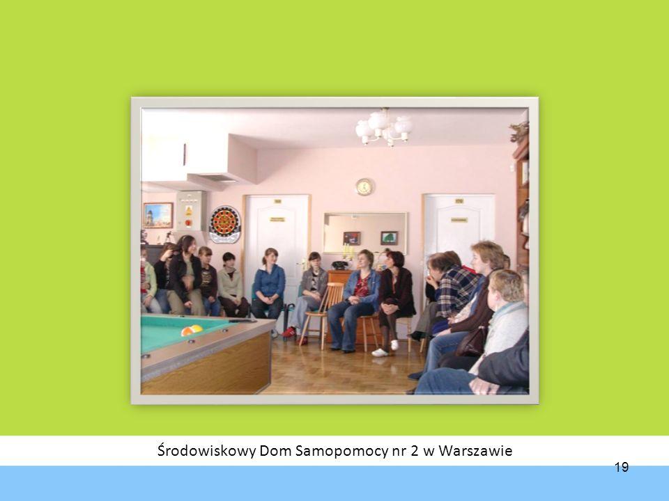 Środowiskowy Dom Samopomocy nr 2 w Warszawie 19