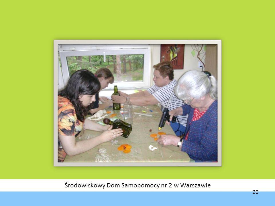 Środowiskowy Dom Samopomocy nr 2 w Warszawie 20