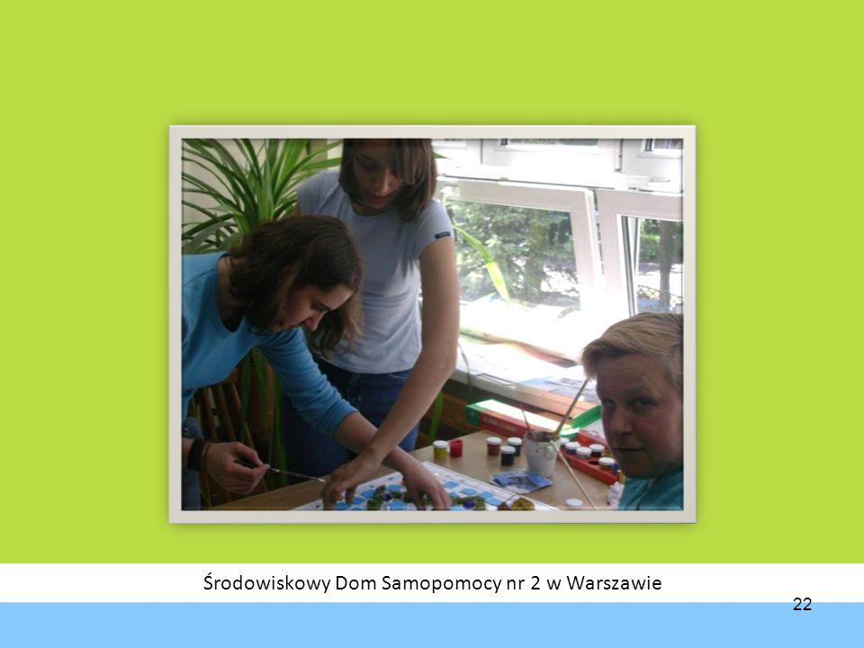 Środowiskowy Dom Samopomocy nr 2 w Warszawie 22