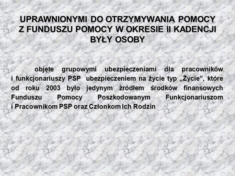 emeryci i renciści PSP, którzy są lub byli objęci ochroną ubezpieczeniową na podstawie umów, o których mowa w § 1 ust.