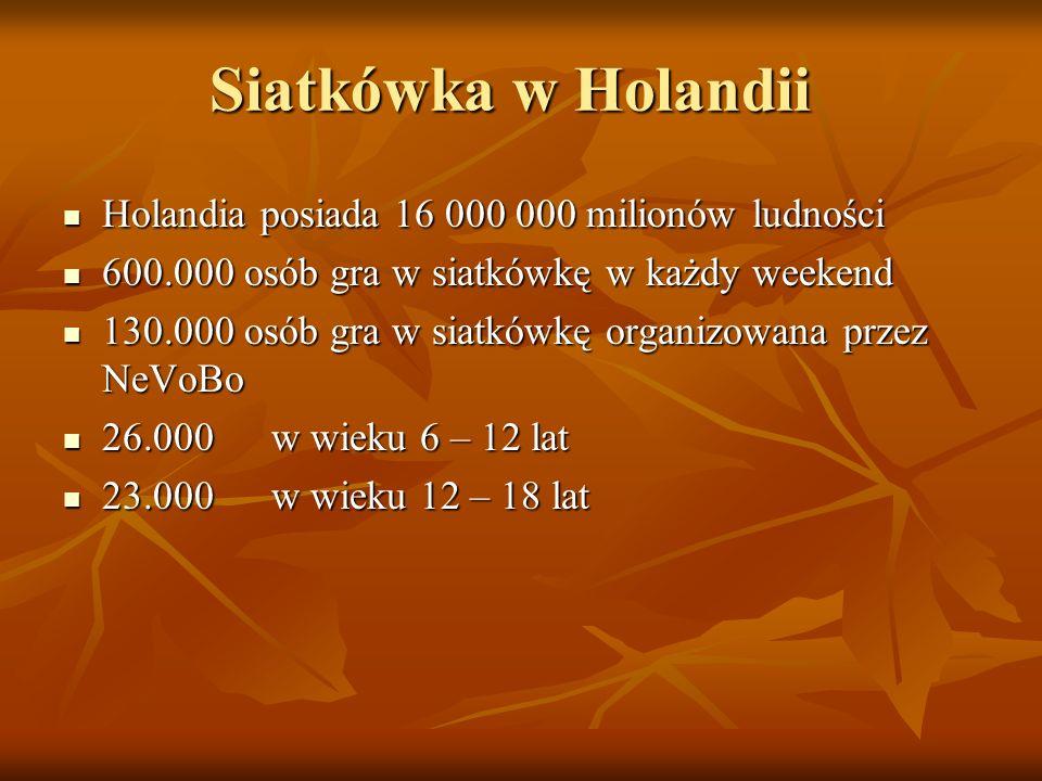 Siatkówka młodzieżowa Opracowując polską strukturę szkolenia warto najpierw zapoznać się z najlepszymi rozwiązaniami w tym zakresie na świecie i w Eur