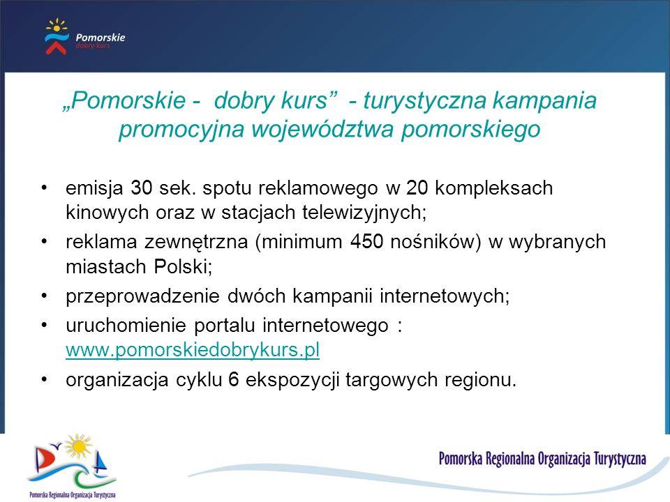 Pomorskie - dobry kurs - turystyczna kampania promocyjna województwa pomorskiego emisja 30 sek.