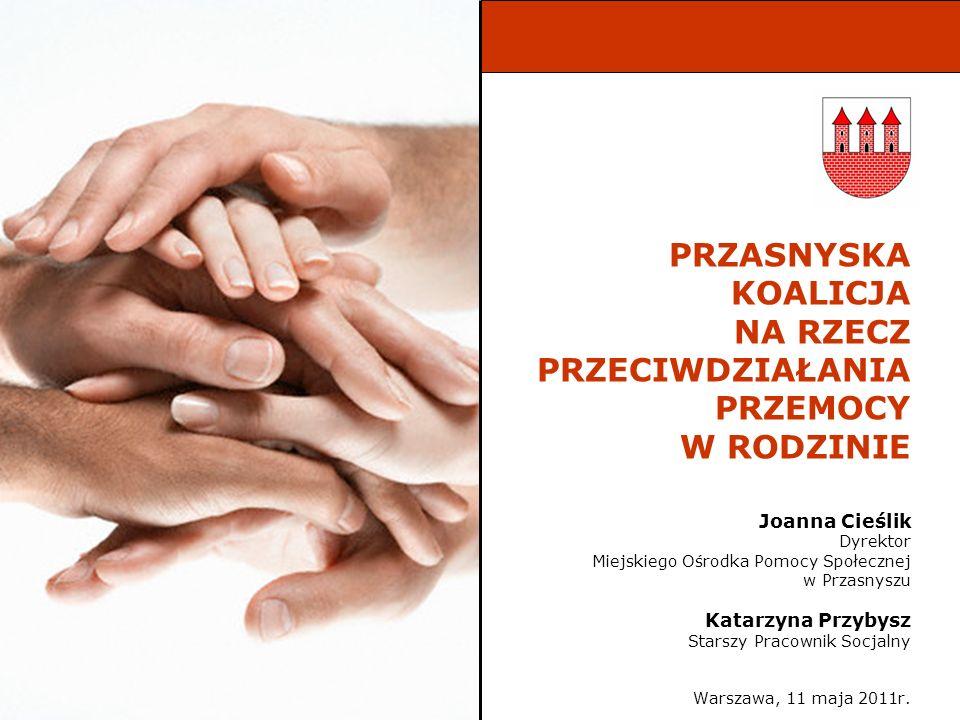 Szkolenia dla przedstawicieli instytucji zajmujących się przeciwdziałaniem przemocy w rodzinie Szkolenie Diagnoza dziecka krzywdzonego w rodzinie 6-7.11.2008r.