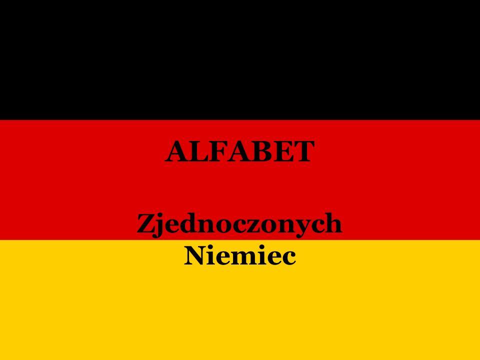 ALFABET Zjednoczonych Niemiec
