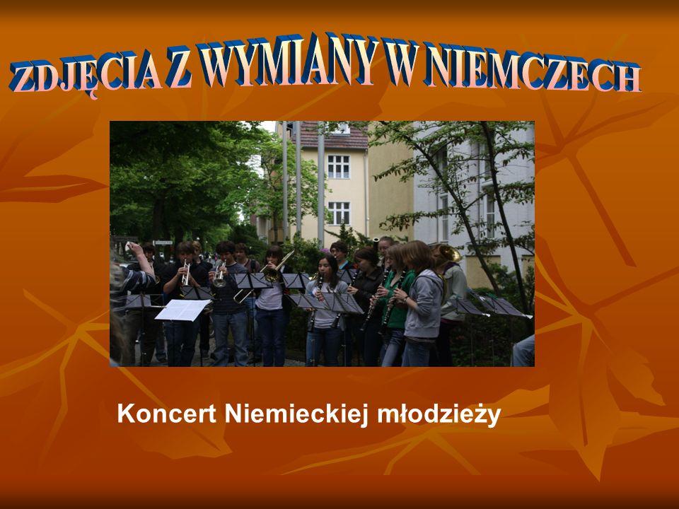 Koncert Niemieckiej młodzieży