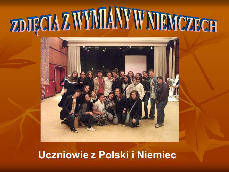 Uczniowie z Polski i Niemiec