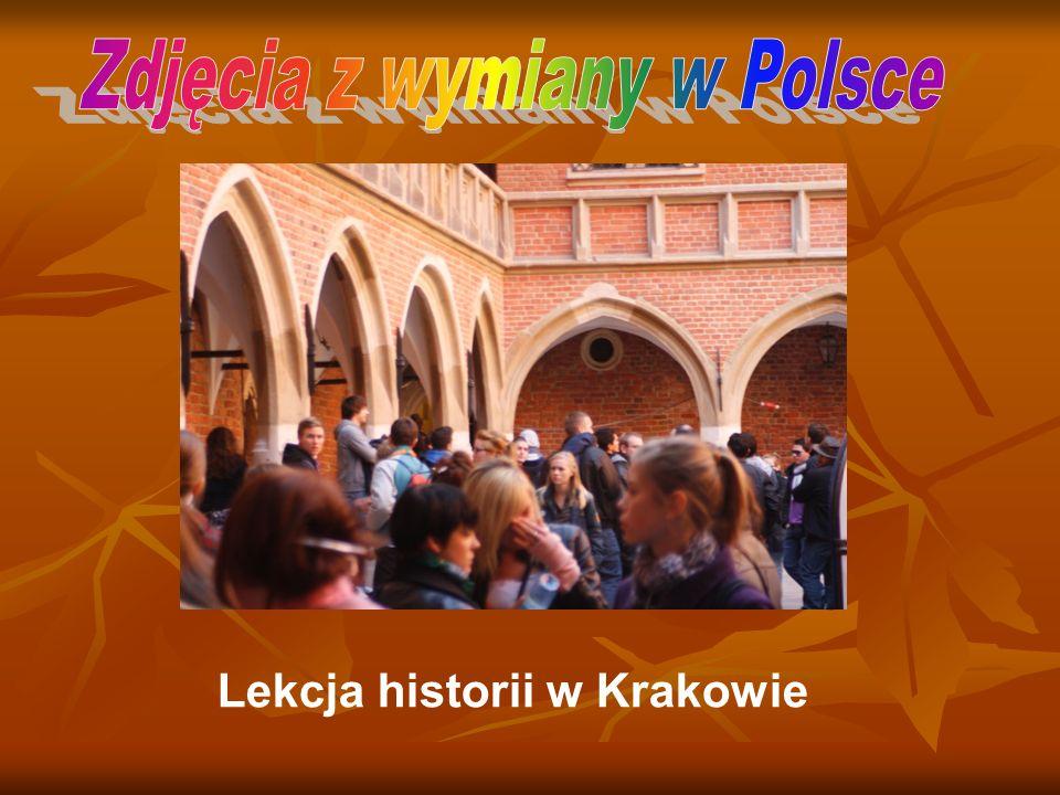 Lekcja historii w Krakowie