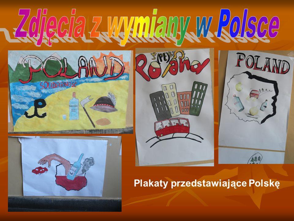 Plakaty przedstawiające Polskę