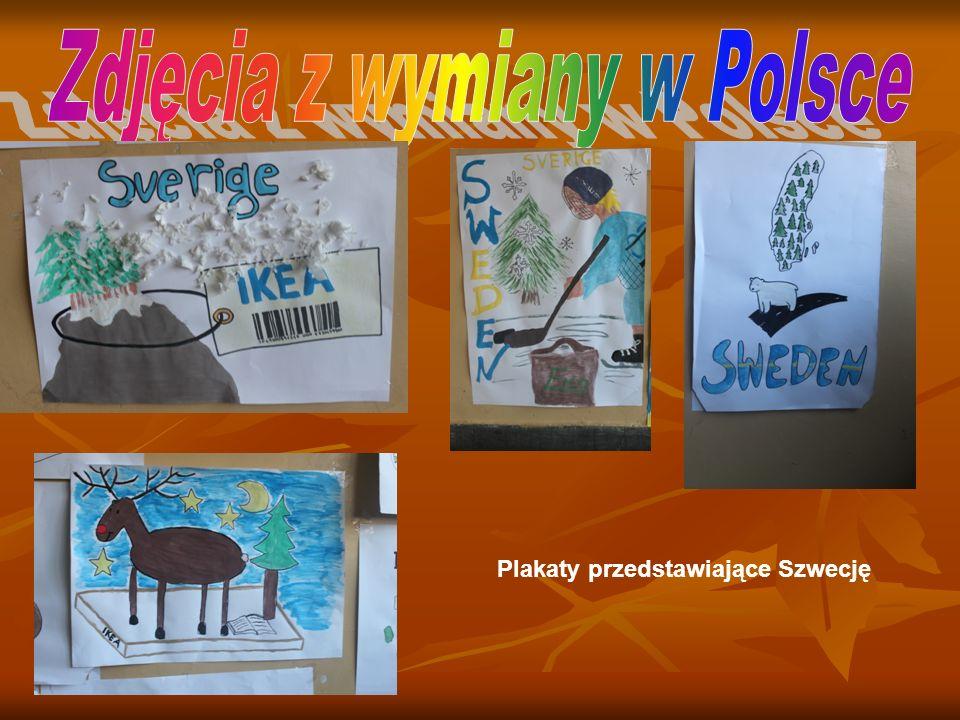 Plakaty przedstawiające Szwecję