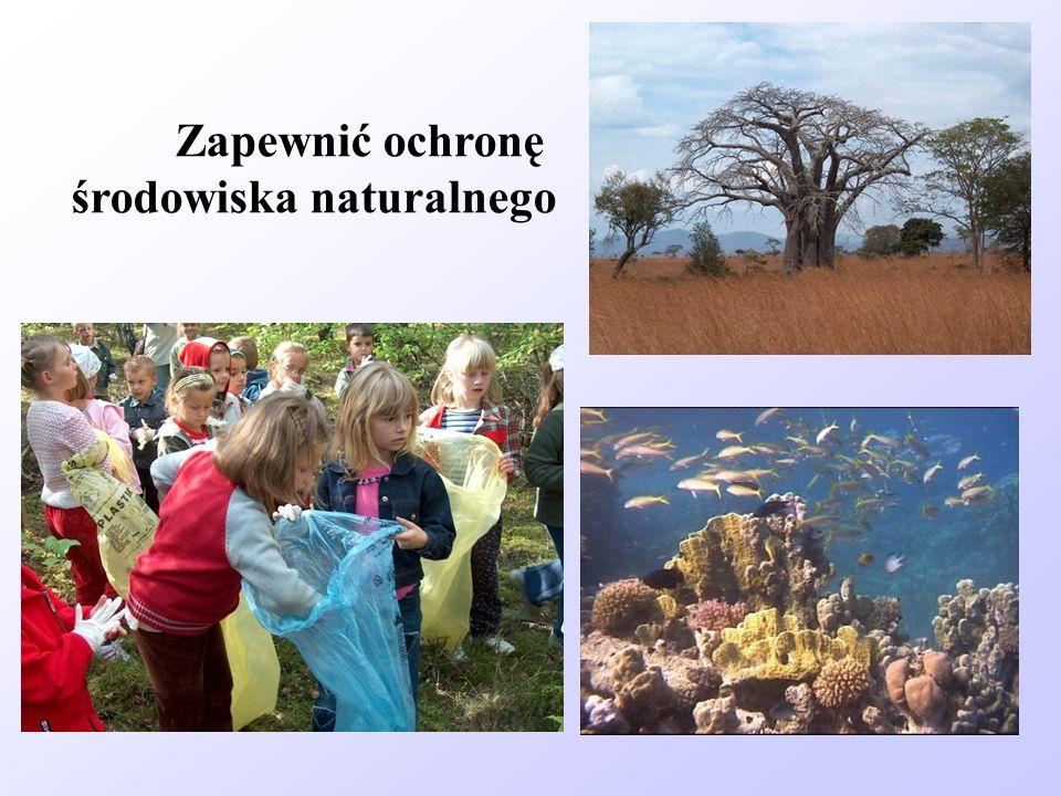 Zapewnić ochronę środowiska naturalnego