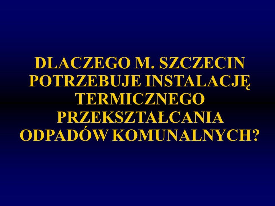 INSTALACJE TERMICZNEGO PRZEKSZTAŁCANIA ODPADÓW KOMUNALNYCH W NOWYCH KRAJACH UE KrajIlość spalarni odpadów o wydajności >3 Mg/h Czechy (Praga, Brno i Liberec) 3 Brno – ok.