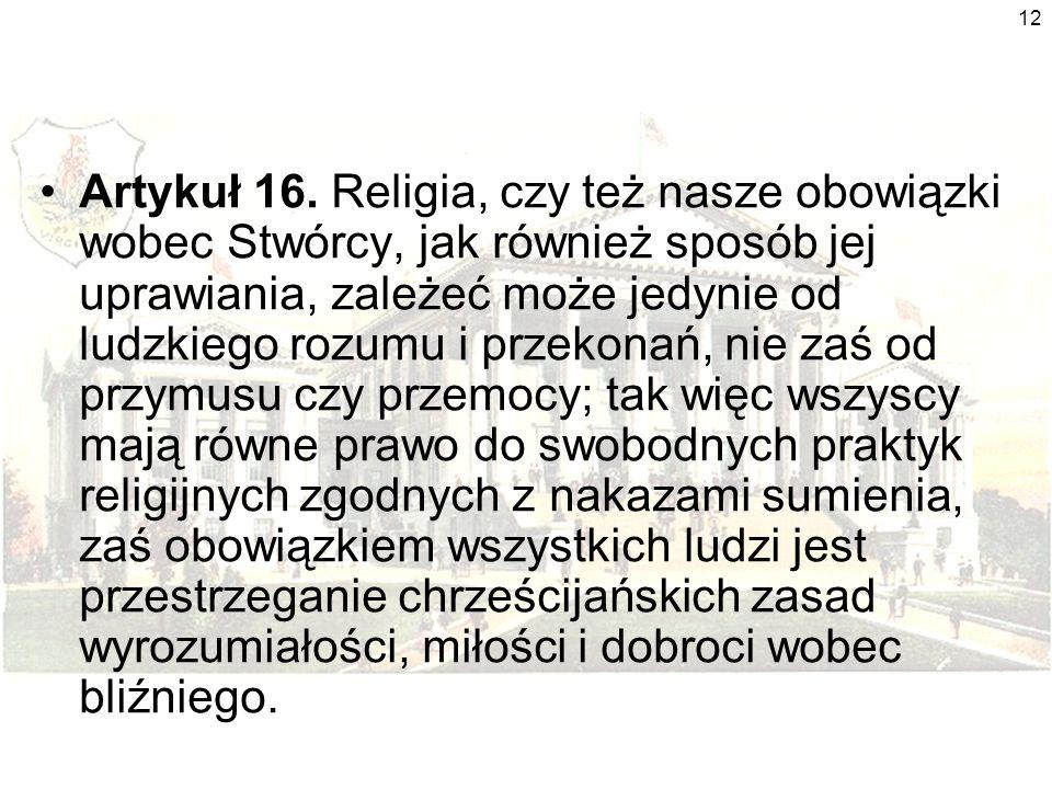 12 Artykuł 16.