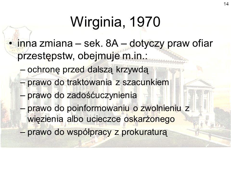 14 Wirginia, 1970 inna zmiana – sek.