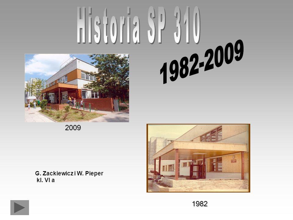 2009 1982 G. Zackiewicz i W. Pieper kl. VI a