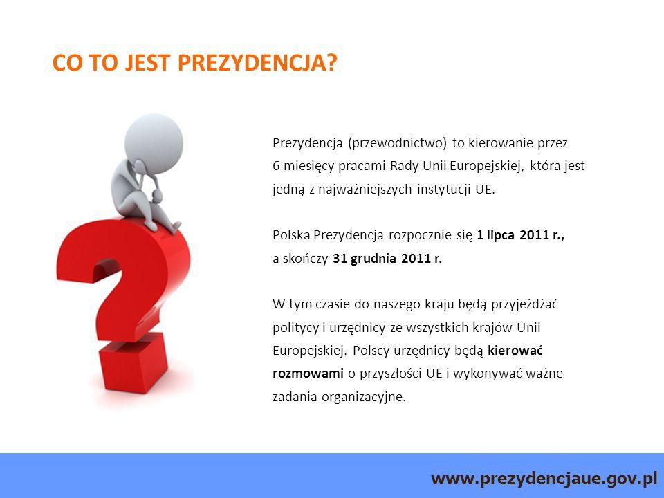 www.prezydencjaue.gov.pl CO TO JEST PREZYDENCJA.