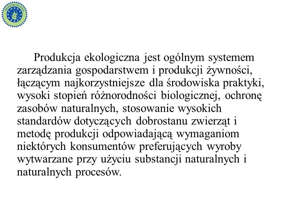 Akty prawne Ustawa z dnia 25 czerwca 2009 r.o rolnictwie ekologicznym (Dz.