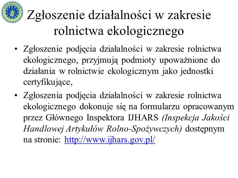 Jednostki certyfikujące w Polsce Centrum Jakości AgroEko Sp.