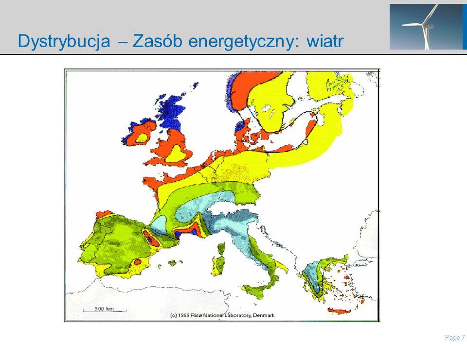 Page 7 nordisch\Presentations\IP Presentation Nordex\21 Roadshow Pres Nordex_May2006.ppt Dystrybucja – Zasób energetyczny: wiatr