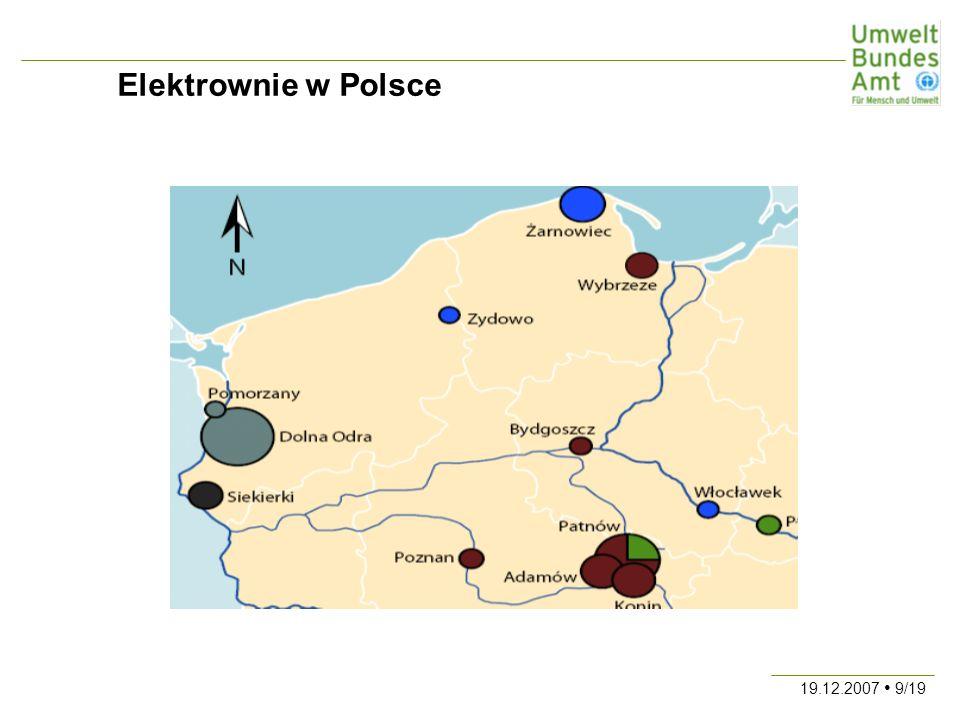 19.12.2007 20/19 Zużycie energii w Niemczech w 2002 r.
