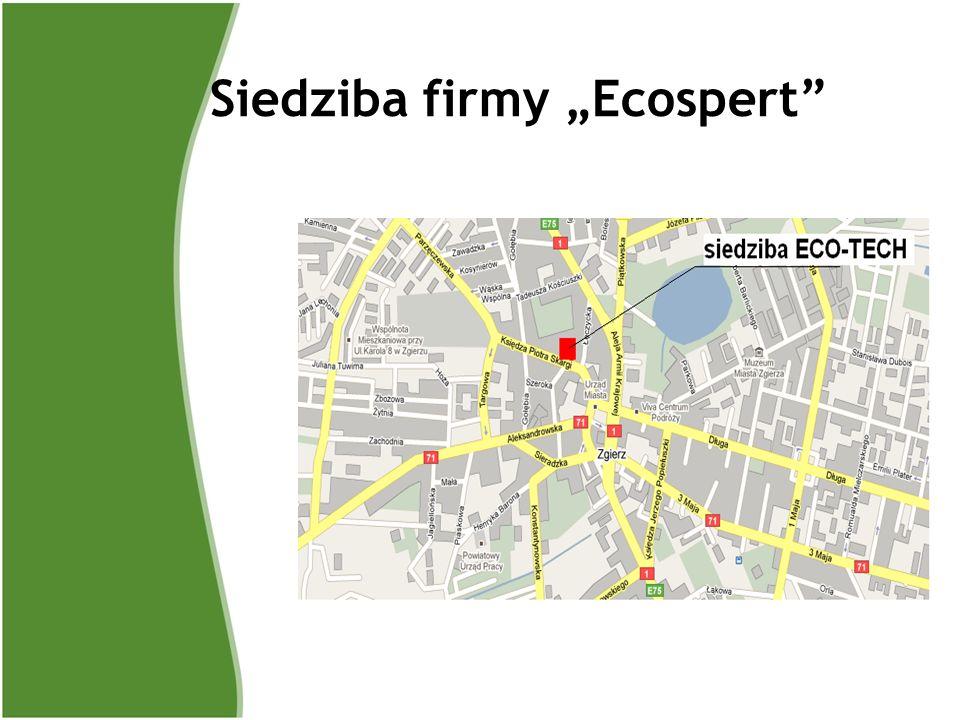 Siedziba firmy Ecospert