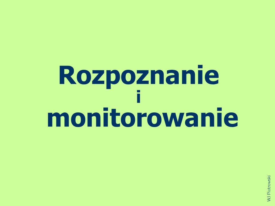 Rozpoznanie i monitorowanie WJ Piotrowski