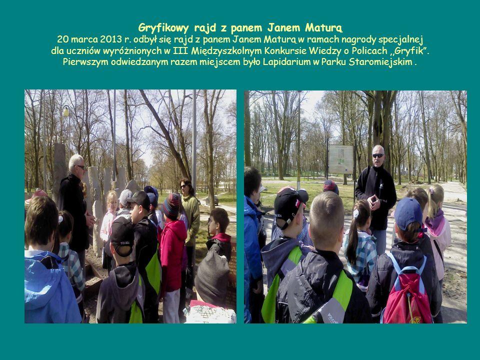 Gryfikowy rajd z panem Janem Maturą 20 marca 2013 r.