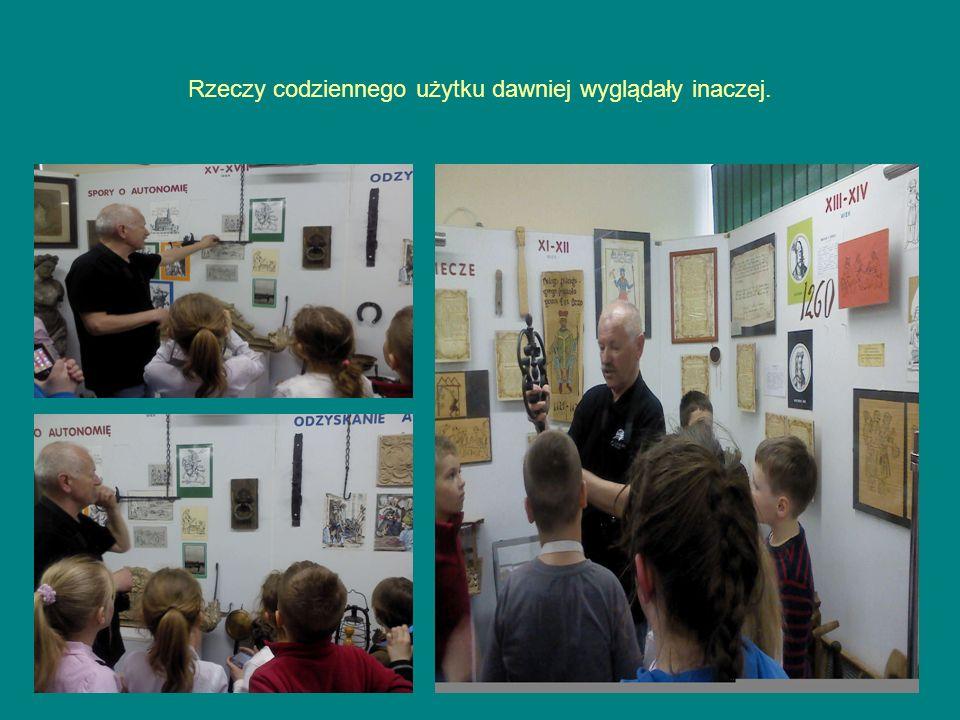 Dzieci interesujące się historią Polic miały niebywałą okazję do zaspokojenia swojej ciekawości.