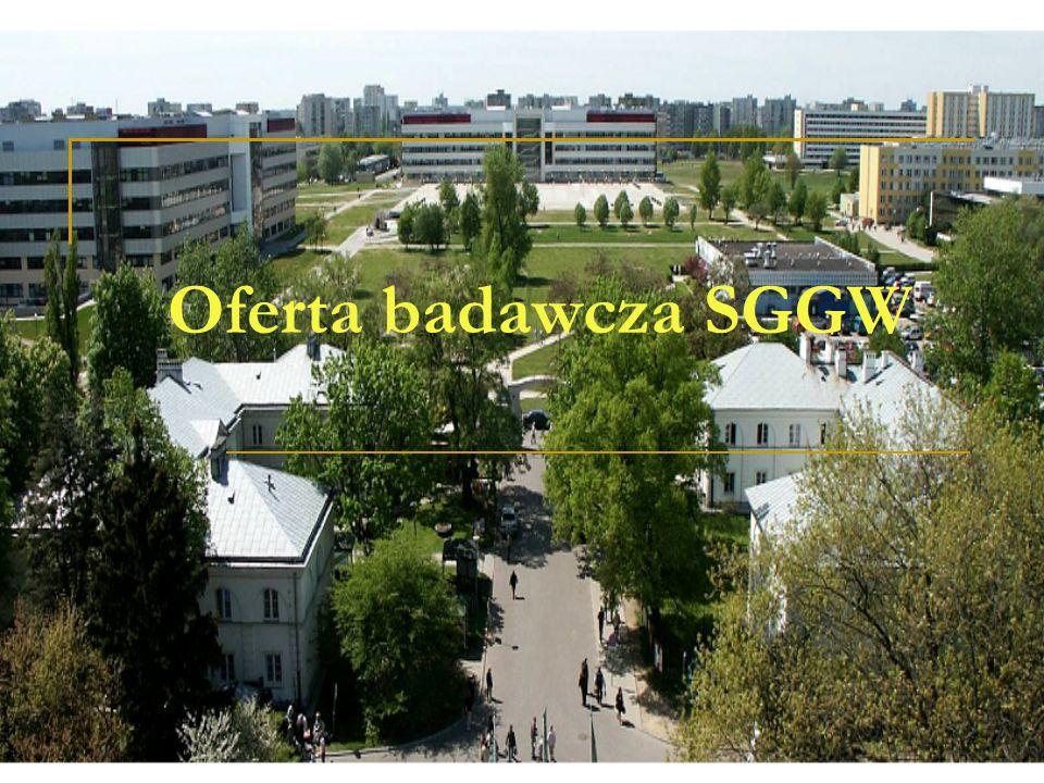 Oferta badawcza SGGW