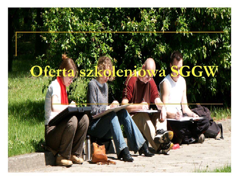 Oferta szkoleniowa SGGW