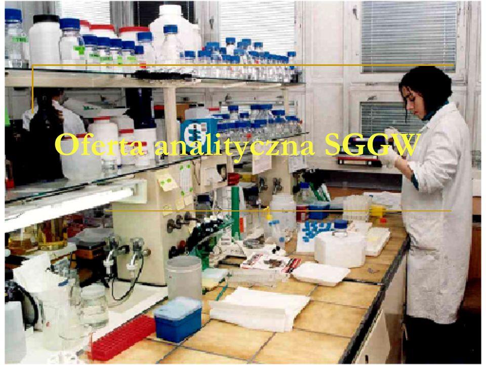 Oferta analityczna SGGW