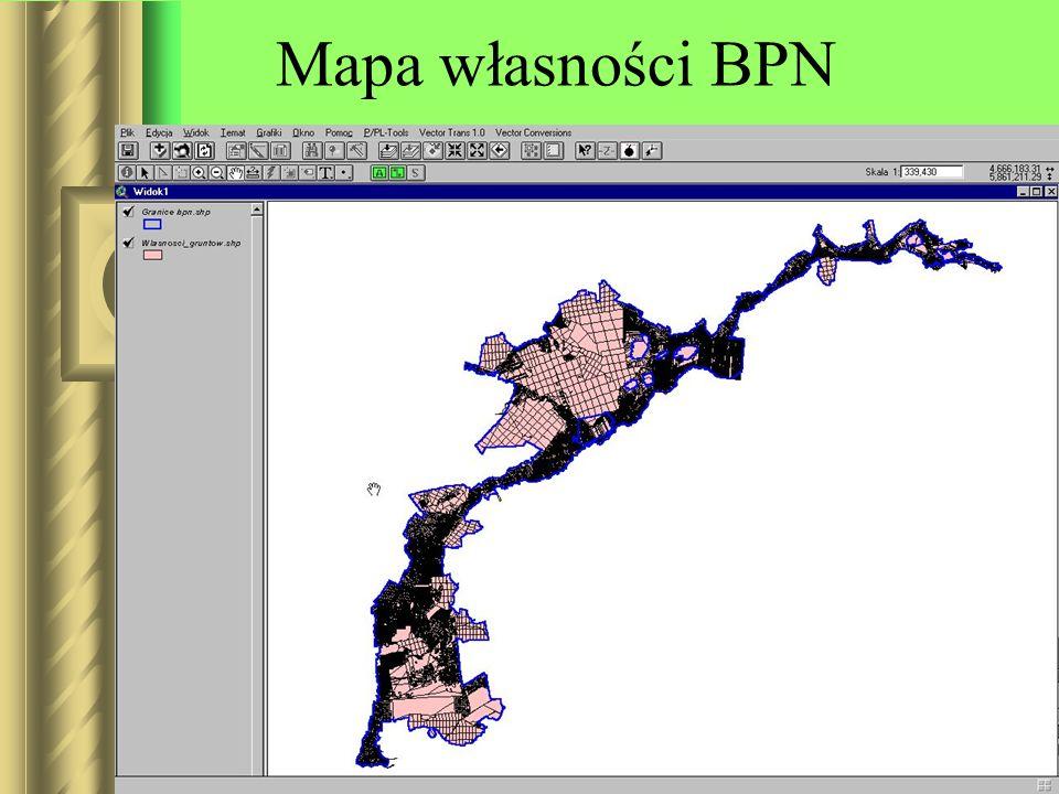 Mapa własności BPN