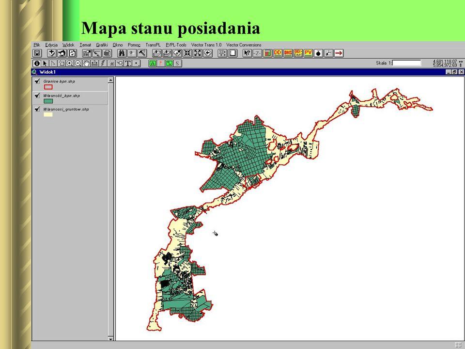 Mapa stanu posiadania