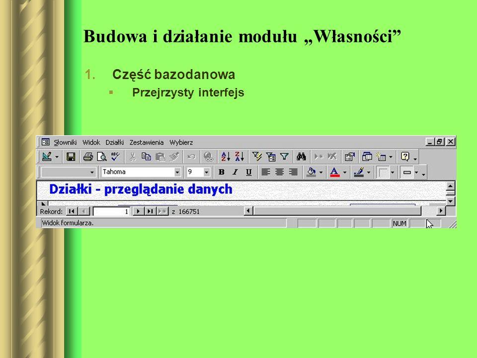 Trzy tryby pracy: przegladanie danych, edycja danych, dodawanie danych