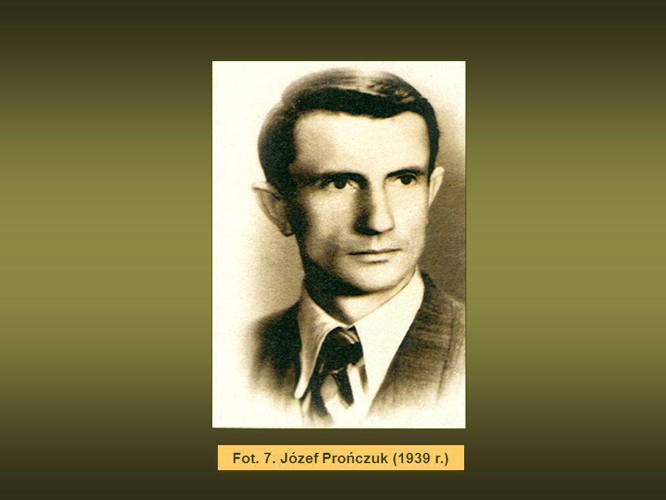 Fot. 7. Józef Prończuk (1939 r.)