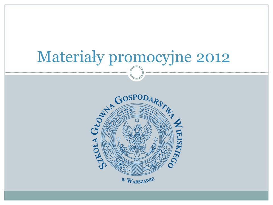Materiały promocyjne 2012