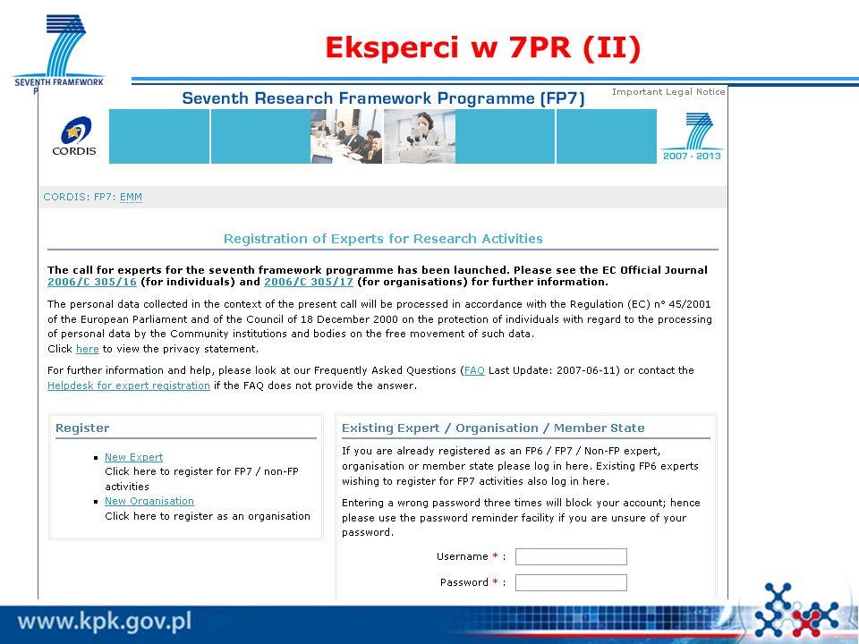 Eksperci w 7PR (II)