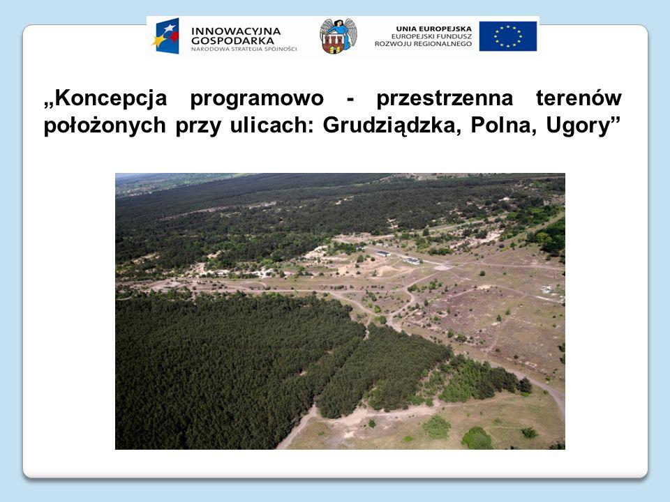 Koncepcja programowo - przestrzenna terenów położonych przy ulicach: Grudziądzka, Polna, Ugory