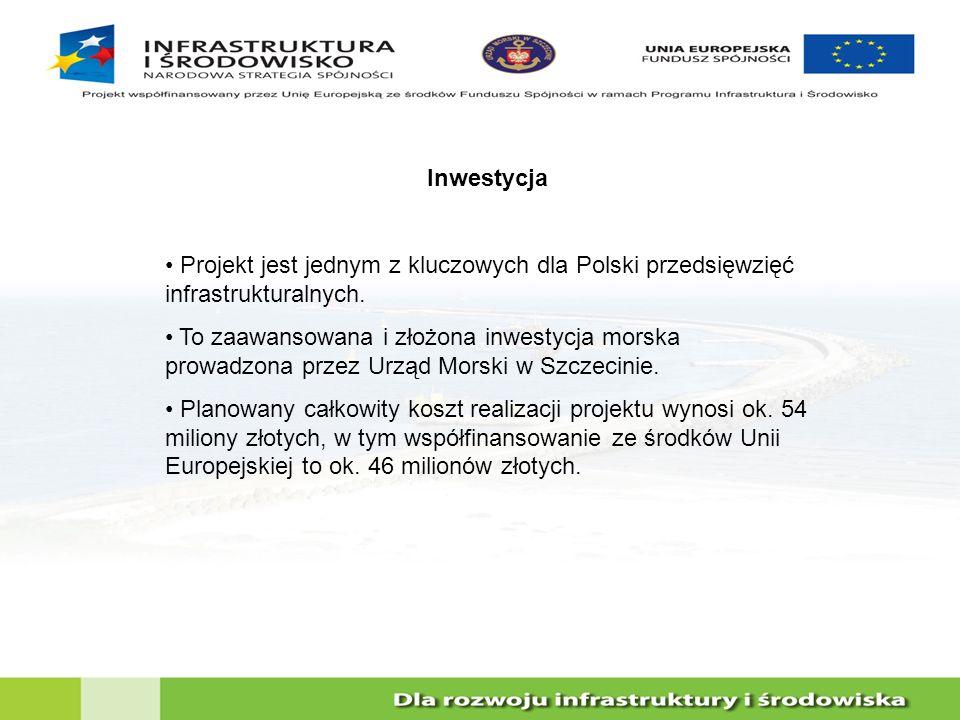 Inwestycja Projekt jest jednym z kluczowych dla Polski przedsięwzięć infrastrukturalnych. To zaawansowana i złożona inwestycja morska prowadzona przez