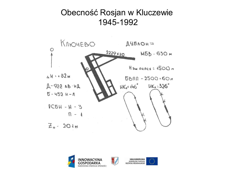 Obecność Rosjan w Kluczewie 1945-1992