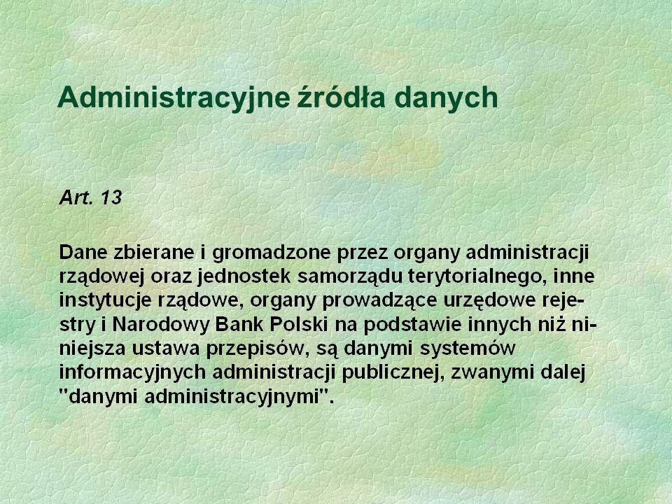 Administracyjne źródła danych