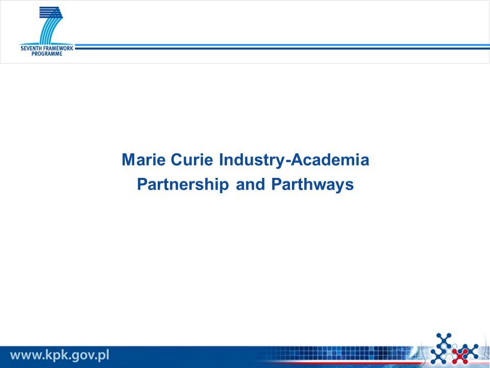 Budowanie współpracy między niekomercyjnymi organizacjami prowadzącymi badania a przedsiębiorstwami w oparciu o wspólne projekty badawcze.