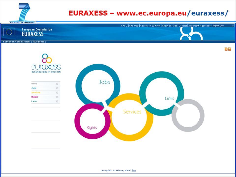 EURAXESS – www.ec.europa.eu/euraxess/
