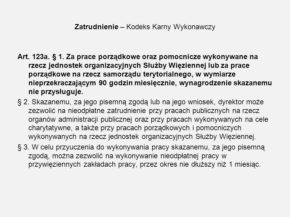 Zatrudnieni nieodpłatnie oraz nie zatrudnieni OISW w Poznaniu w dniu 31.12.2010r.
