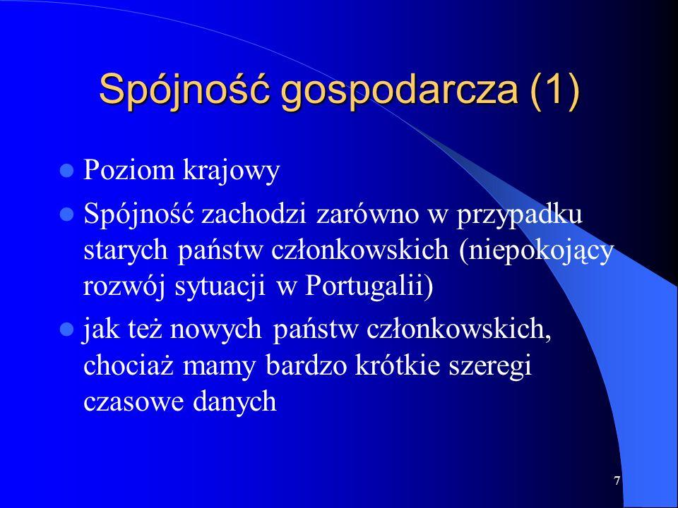 28 Silne strony IV raportu kohezyjnego (1) Trzy modele makroekonomiczne dokumentujące oddziaływanie funduszy Nowoczesne wnioski dotyczące szczegól- nego znaczenia przestrzeni (m.in.