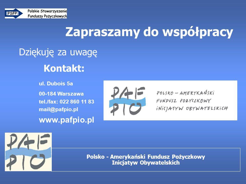 Zapraszamy do współpracy Dziękuję za uwagę Kontakt: ul.