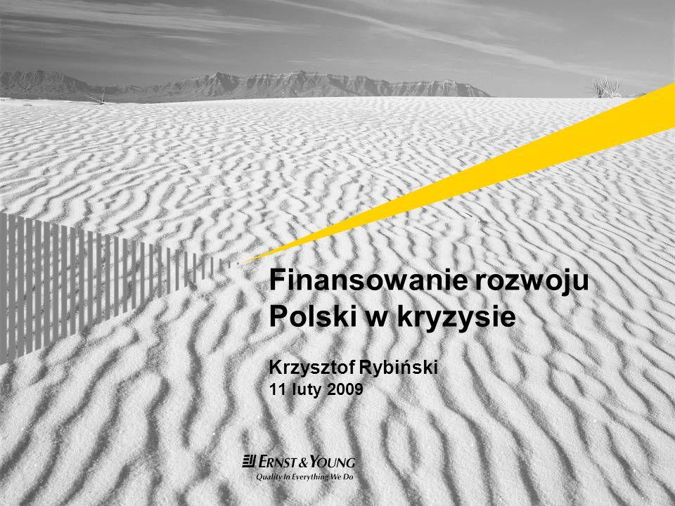 Finansowanie rozwoju Polski w kryzysie Krzysztof Rybiński 11 luty 2009