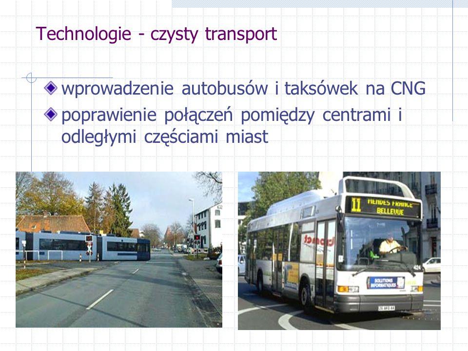 Strategie zarządzania popytem wjazd tylko dla pojazdów ekologicznych wydzielenie pasów tylko dla autobusów