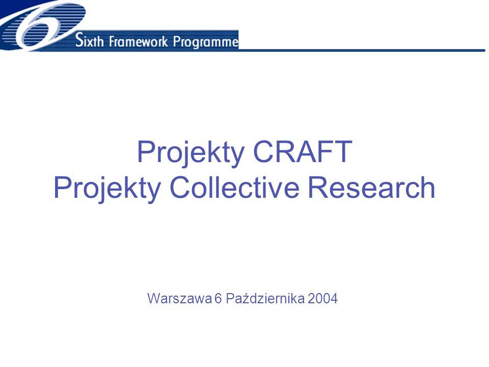 Projekty CRAFT Projekty Collective Research Warszawa 6 Października 2004