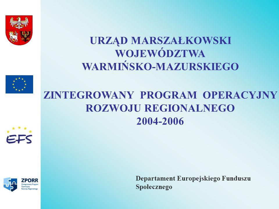 Priorytet II - Wzmocnienie Rozwoju Zasobów Ludzkich w regionach Działanie 2.2 Wyrównywanie szans edukacyjnych poprzez programy stypendialne Projekty typu I – Wspieranie rozwoju edukacyjnego młodzieży wiejskiej Projekty typu II – Wspieranie rozwoju edukacyjnego studentów